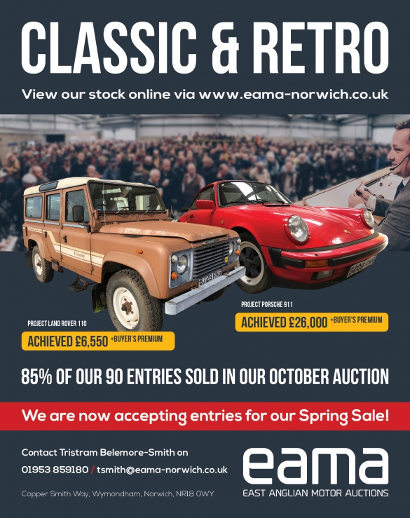 Classic Retro Results East Anglian Motor Auctions